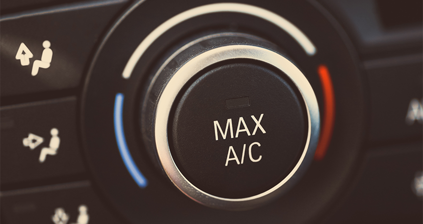 Car Air Conditioning Controls After Car Air Con Servicing - Car Air Conditioning Northampton